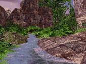 Screenshot of Green Valley 3D Screensaver
