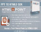 HTML5Point SDK - PowerPoint to HTML5 Screenshot