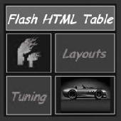 HTML Table Renderer AS 2.0 Screenshot