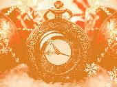 Holiday Clock Screensaver Screenshot