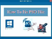 How To Fix PSD File Screenshot