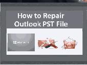 How to Repair Outlook PST File Screenshot