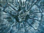 Ice Clock 3D Screensaver Screenshot