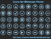 Screenshot of Icons for Windows Phone