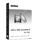 Screenshot of ImTOO AVI to DVD Converter for Mac