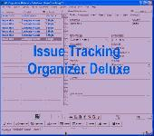 Issue Tracking Organizer Deluxe Screenshot