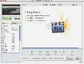 Joboshare DVD to FLV Converter for Mac Screenshot