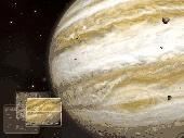 Jupiter 3D Space Screensaver Screenshot