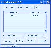Screenshot of Key Customizer