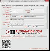 Linear Barcode Image Generator Screenshot