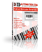 Linear Barcode for i-net Clear Reports Screenshot