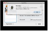 Screenshot of LogonKey