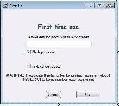 LuJoSoft DeskLockII Screenshot