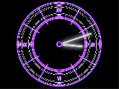 Luminescent Clock ScreenSaver Screenshot