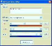 MSN Font Color Editor Screenshot