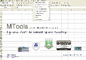 MTools Excel Addin Screenshot