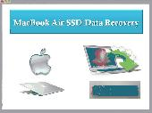 Screenshot of MacBook Air SSD Data Recovery