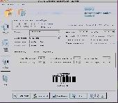 Mac Barcode Creator Screenshot