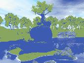 Magic Tree 3D Screensaver Screenshot
