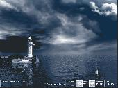 Majestic Lighthouse Screensaver Screenshot
