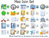 Map Icon Set Screenshot