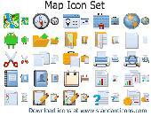 Map Icon Set Screenshot