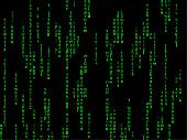 Matrix Screensaver Screenshot