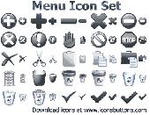 Menu Icon Set Screenshot