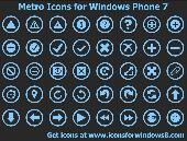 Screenshot of Metro Icons for Windows Phone 7