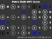 Metro Style WP7 Icons Screenshot