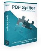Mgosoft PDF Spliter Command Line Screenshot
