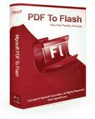 Mgosoft PDF To Flash Command Line Screenshot