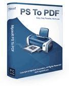 Screenshot of Mgosoft PS To PDF Command Line