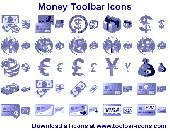 Money Toolbar Icons Screenshot