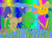 Mouse Clock ScreenSaver Screenshot