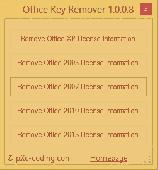 Office Key Remover Screenshot
