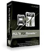PCL To PDF GUI+Command Line Screenshot