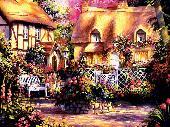Painted Town Screensaver Screenshot