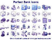 Perfect Bank Icons Screenshot
