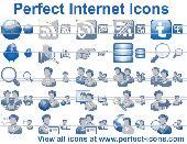 Perfect Internet Icons Screenshot