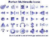 Perfect Multimedia Icons Screenshot