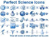 Perfect Science Icons Screenshot