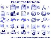 Screenshot of Perfect Toolbar Icons