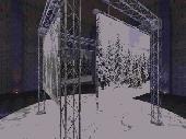 Photo Gallery 3D Screensaver Screenshot