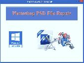 Screenshot of Photoshop PSD File Repair
