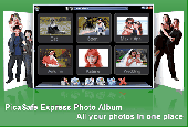 PicaSafe Express Photo Album Screenshot