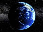 Planet Earth Screen Saver Screenshot