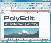 Screenshot of PolyEdit Lite