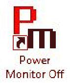 Power Monitor Off Screenshot