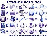 Professional Toolbar Icons Screenshot